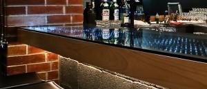 Glasses on the bar - B
